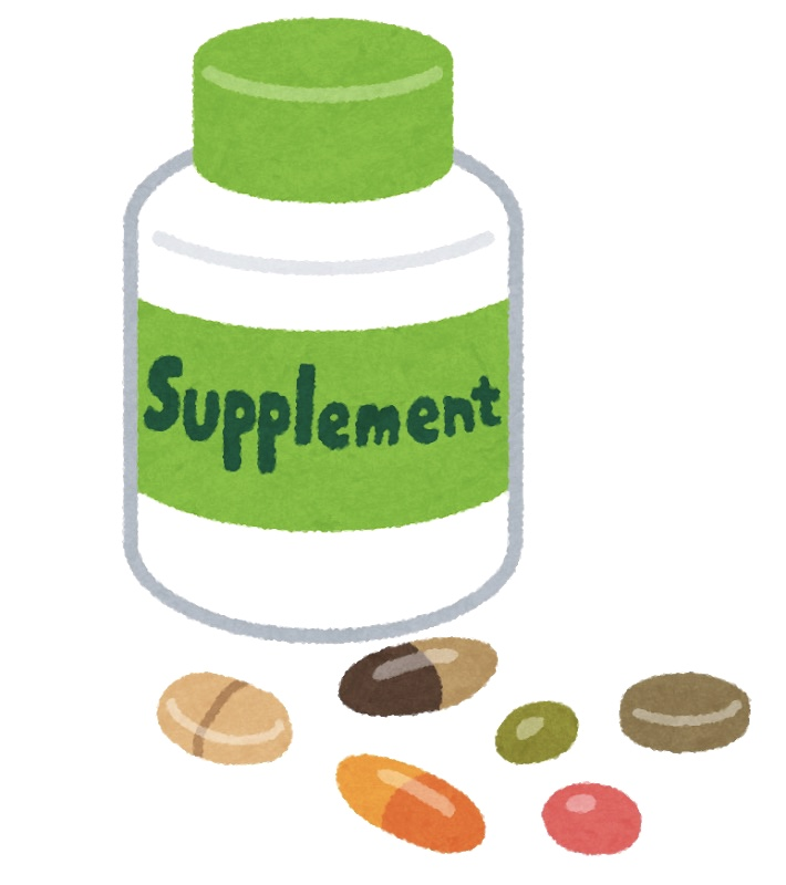 健康食品やサプリメントで病気は治りません!