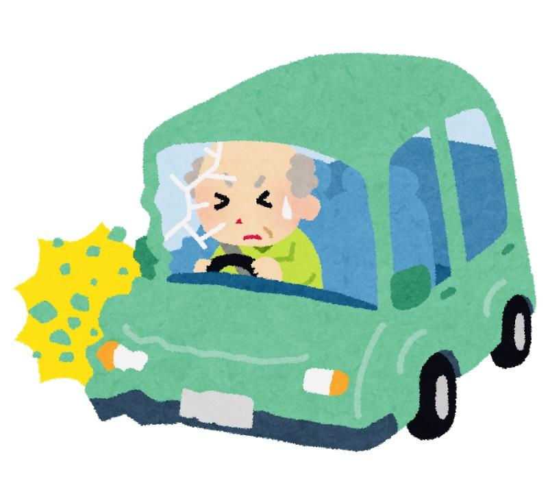認知症などの高齢者の運転問題